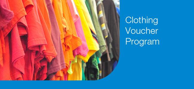 Goodwill Clothing Voucher Program