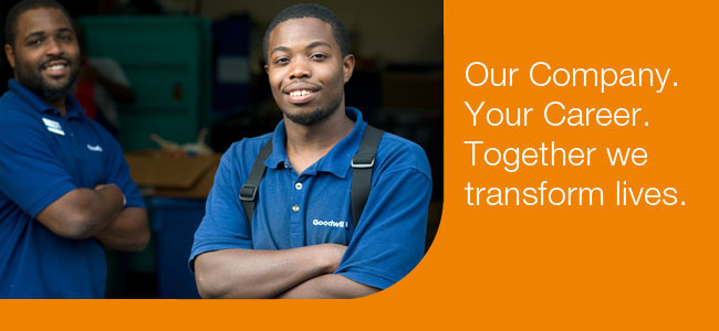 Work for Goodwill, Apply online today!