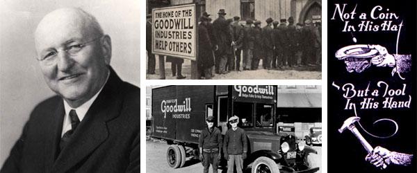 Edgar J. Helms, Goodwill Industries 1935