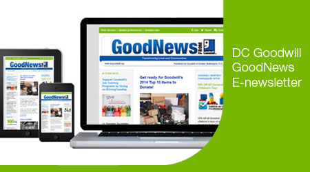 Goodwill GoodNews E-newsletter