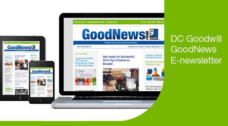 Goodwill GoodNews E-newsletter