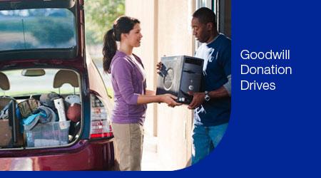 Goodwill Donation Drives