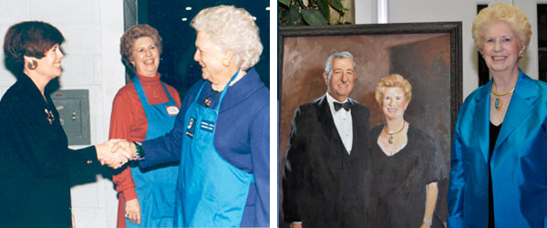 Gladys Lisanby & Barbara Bush, Gladys Lisanby - Fashion of Goodwill