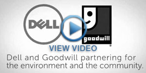 Dell Reconnect & Goodwill computer recycling partnership video