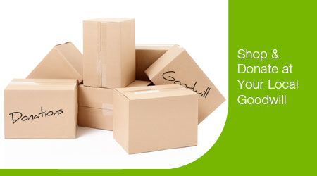 Donate Used Goods to Goodwill