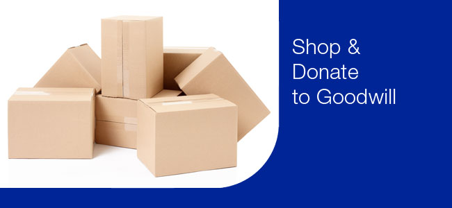 Donated Used Goods to Goodwill