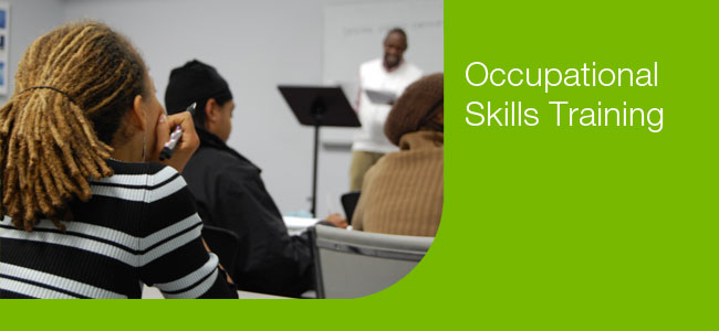Goodwill Occupational Skills Training