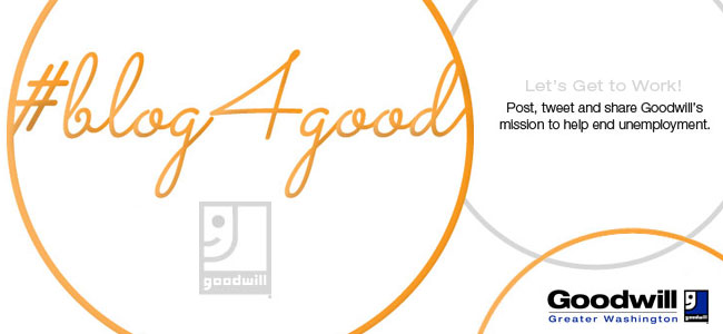 #blog4good is a social media campaign to help end unemployment