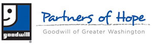 Become a monthly donor by joining Goodwill of Greater Washington's Partners of Hope