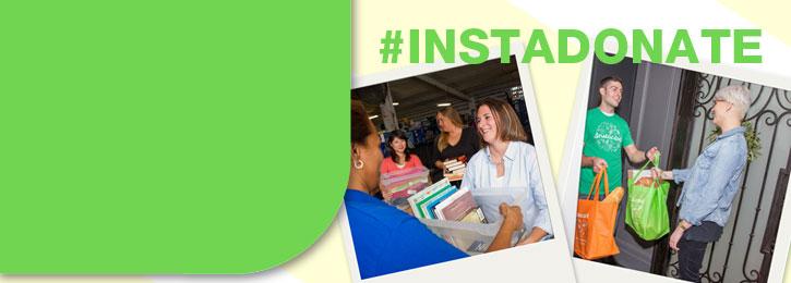#Instadonate with Instacart!