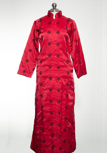 Fashion of Goodwill - Shanghai Chic Red Asian Odette Barsa Dress