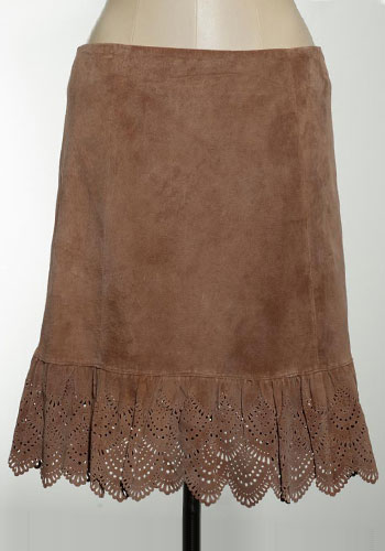 Fashion of Goodwill - Country Meets Corporate Elvenses Knee-Length Skirt