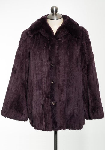 Fashion of Goodwill - Ms. Hannigan Luxe Chocolate Fur Coat by Rosendorf/Evans