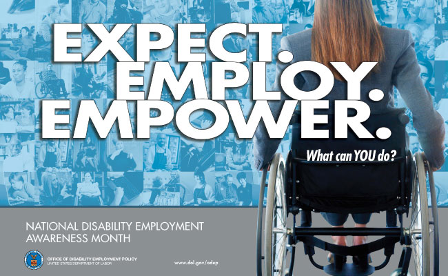 National Disability Employee Awareness Month