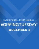 #GivingTuesday - December 2ND, 2014
