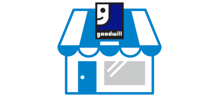 Find a Goodwill store, donation center, or career center