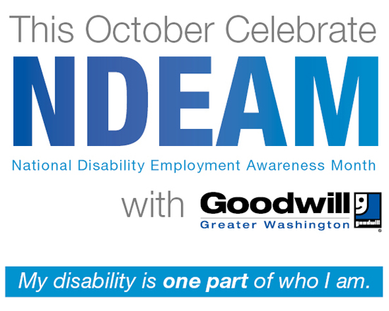 October is National Disability Employment Awareness Month