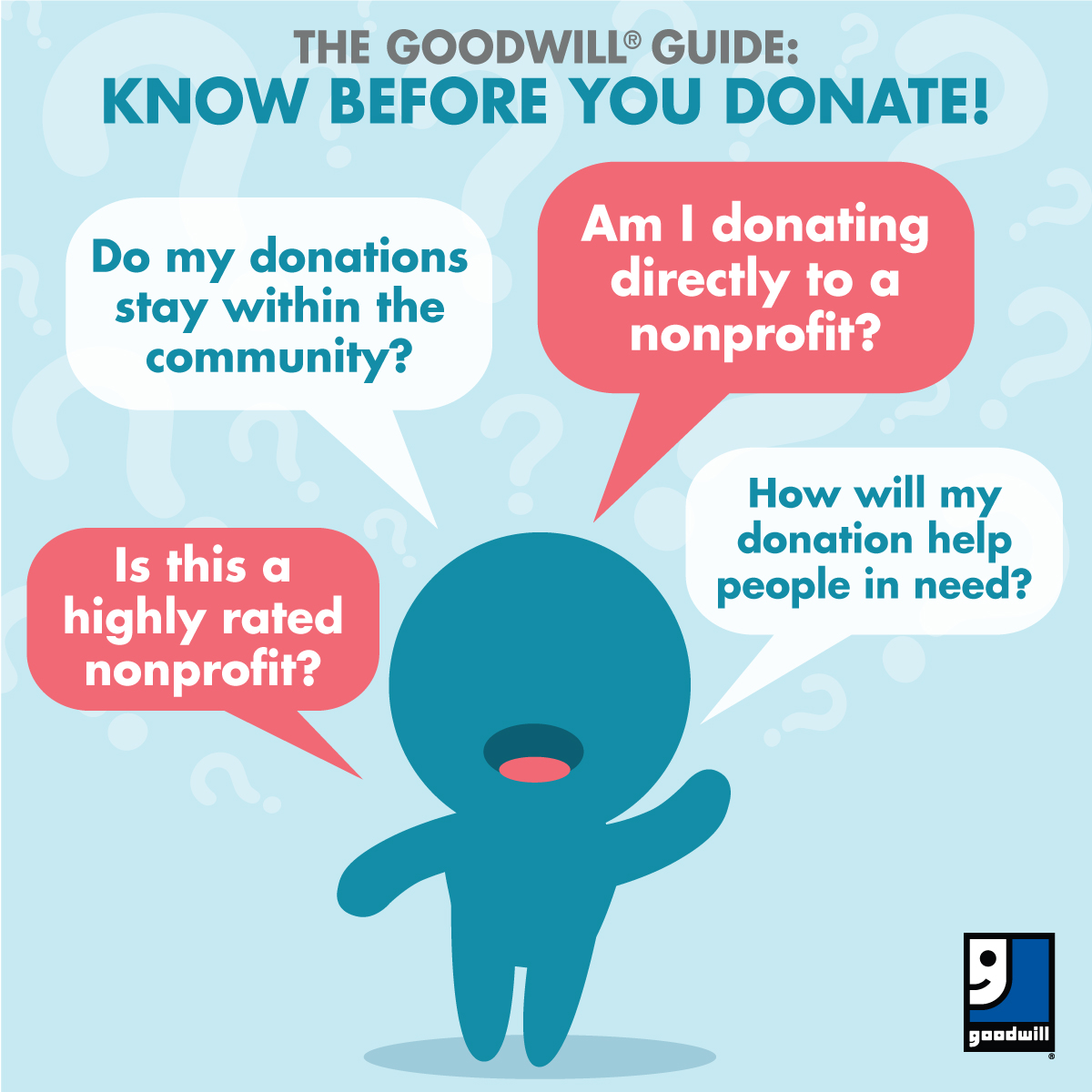 10 tips for making a year end donation to goodwill | goodwill of