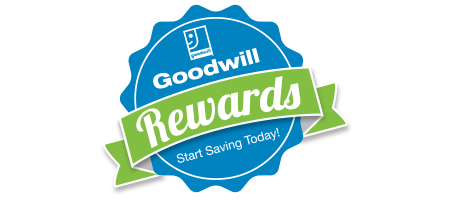 Sign-up for the Goodwill  Rewards Club