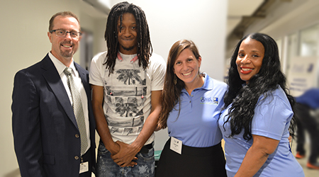 The Goodwill Excel Center - Students & Staff