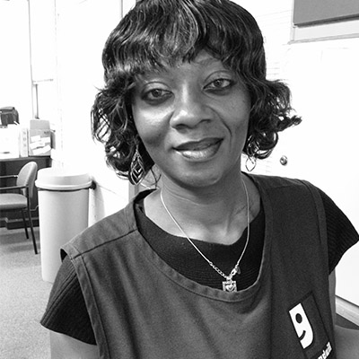 Patricia, Goodwill of Greater Washington Contract Site Associate, Bolling Air Force Base