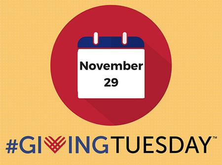 #GivingTuesday - November 29, 2016
