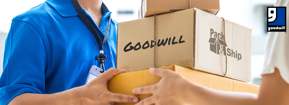 Pack & Ship - Mail Your Donation Service