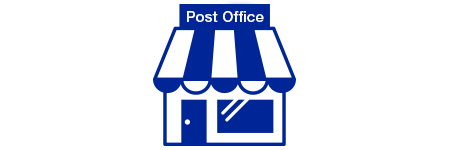 Mail your donation packages at a Post Office.