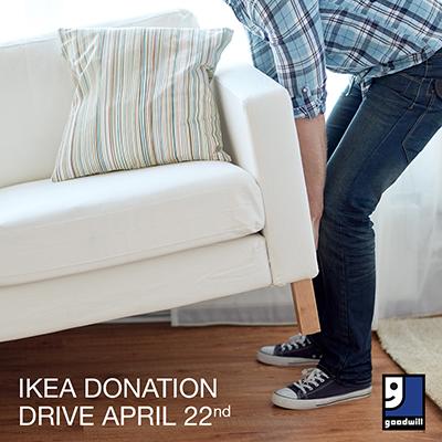 Ikea donation drive goodwill of greater washington for Ikea locations in va