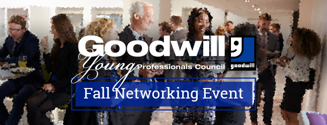Goodwill Young Professional's Council Fall Networking Event