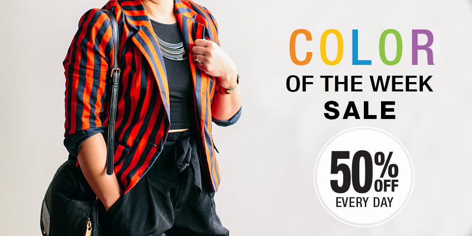 Color of the Week Sale