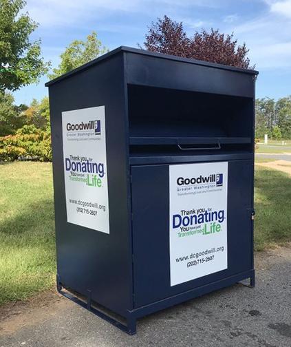 Goodwill donation bin