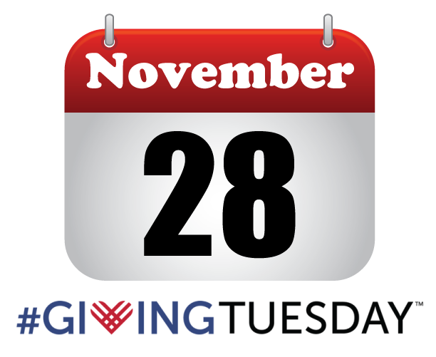 Mark your calendar for Giving Tuesday, November 28