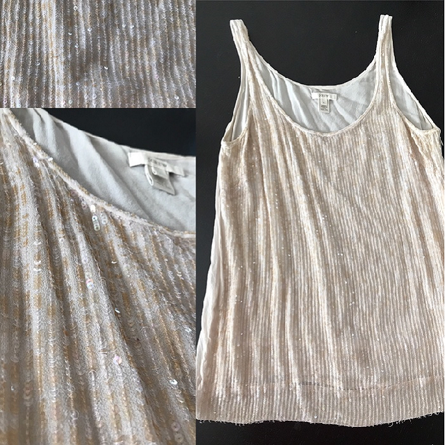 sequin cami found at Goodwill