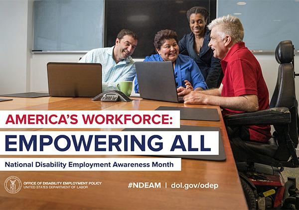 National Disability Employment Awareness Month (NDEAM)