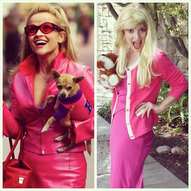 Elle Woods costume diy from Legally Blonde