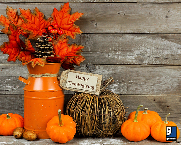 Festive Thanksgiving stock image