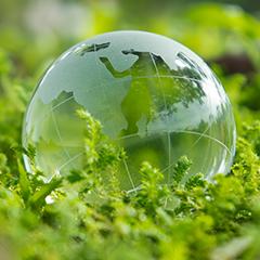 green globe earth day image