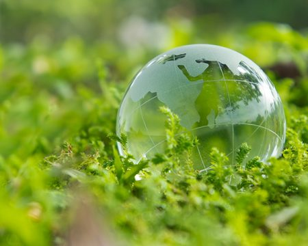 green globe earth day image transparent globe in grassy field