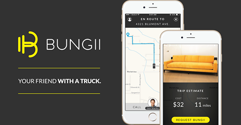 Get help transporting your Goodwill purchase to your home. Click to find out more about Bungii or to download the app.