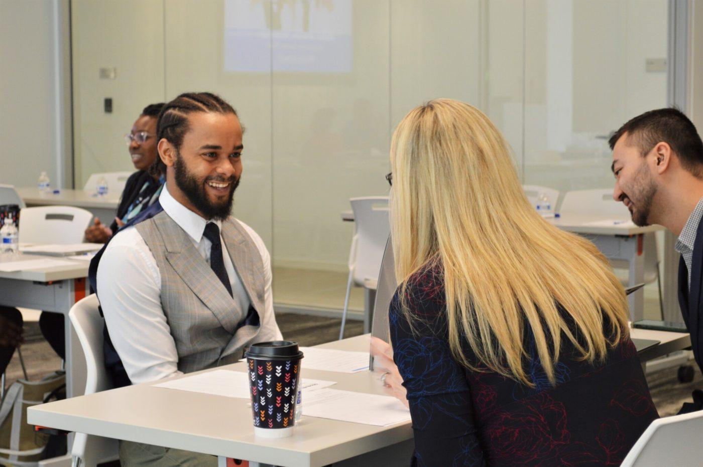 Job Training Graduate Interviewing