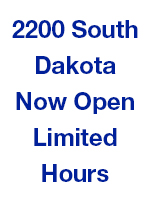 2200 South Dakota Retail Store Now Open Limited Hours