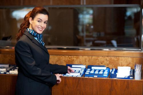 hospitality - front desk